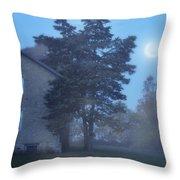 Early Morning Farmhouse Throw Pillow