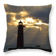 Early Morning Rays Throw Pillow
