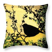 Early Morning Song 1 Throw Pillow