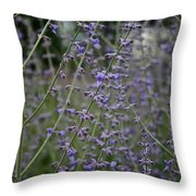 Early Russian Sage Throw Pillow