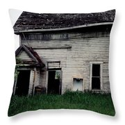 Earth Reclaims Throw Pillow