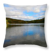 Earth Sky Water Throw Pillow