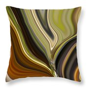 Earth Tones Throw Pillow