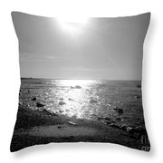Earth Water And Fire Throw Pillow