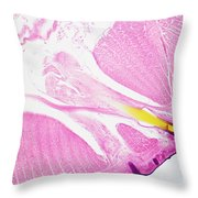 Earthworm, Transverse Section Throw Pillow