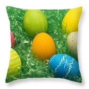 Easter Egg Seven 1 Throw Pillow