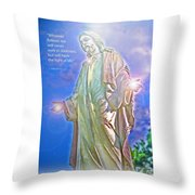 Easter Miracle Throw Pillow