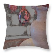 Easter The Drawing Throw Pillow