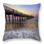 Eastern Glow Throw Pillow