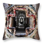 Eastern State Penitentiary - Medical Ward Throw Pillow
