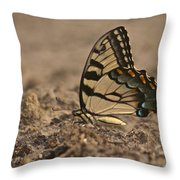 Eastern Tiger Swallowtail 8542 3219 Throw Pillow
