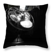 Ebony Wind Throw Pillow