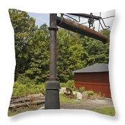Ebt Water Column Throw Pillow