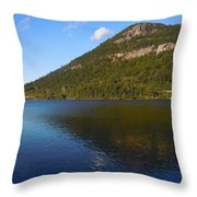 Echo Lake Franconia Notch New Hampshire Throw Pillow