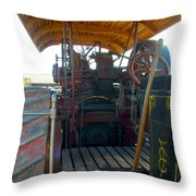 Eclipse From The Back Throw Pillow