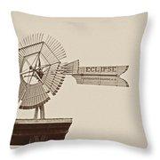 Eclipse Windmill 3578 Throw Pillow