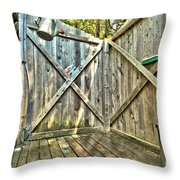 Eco Shower Throw Pillow