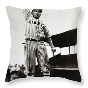 Edd Roush (1893-1988) Throw Pillow