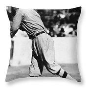 Eddie Plank (1875-1926) Throw Pillow