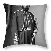 Edgar A. Kimball (1822-1863) Throw Pillow