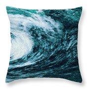 Edge Of Disaster Throw Pillow