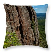 Edge Of The Mountain Throw Pillow