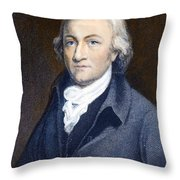 Edmund Cartwright Throw Pillow