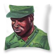 Eduardo Mondlane Throw Pillow