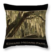 Edward Medard Park Throw Pillow