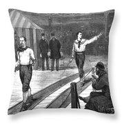 Edward Payson Weston Throw Pillow