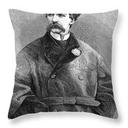 Edward Sothern (1826-1881) Throw Pillow