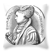 Edward Vi (1537-1553) Throw Pillow