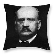 Edward W. Morley 1907 Nobel Prize Throw Pillow