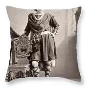 Edwin Booth (1833-1893) Throw Pillow