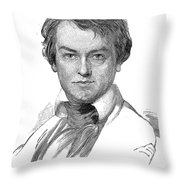Edwin Forrest (1806-1872) Throw Pillow