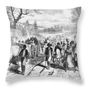 Effects Of Emancipation Proclamation Throw Pillow