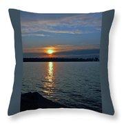 Egg Harbor Throw Pillow