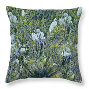 Egrets At Roost Throw Pillow