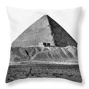 Egypt: Cheops Pyramid Throw Pillow