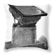 Egypt: Rosetta Stone Throw Pillow