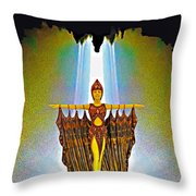 Egyptian Princess Throw Pillow