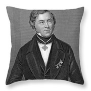 Eilhardt Mitscherlich Throw Pillow