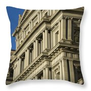 Eisenhower Executive Office Building Washington Dc Throw Pillow
