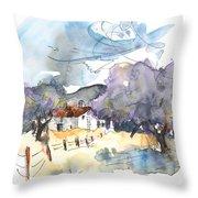 El Alcornocal 07 Throw Pillow