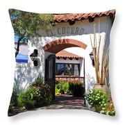 El Chorro Lodge Throw Pillow