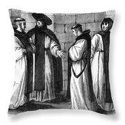 El Escorial: Hieronymites Throw Pillow