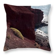 El Golfo Ash Mountain Throw Pillow