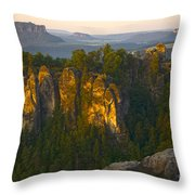 Elbe Sandstone Highlands Throw Pillow