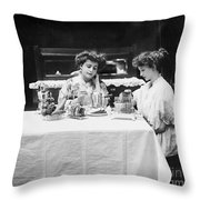 Electric Cookware, 1908 Throw Pillow
