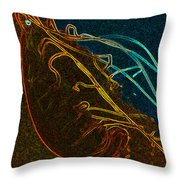Electric Jelly Throw Pillow